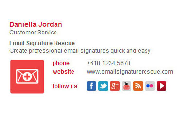 Email signature design bizedge email signature design fbccfo Gallery